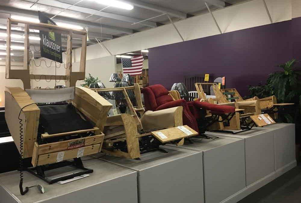 recliner construction