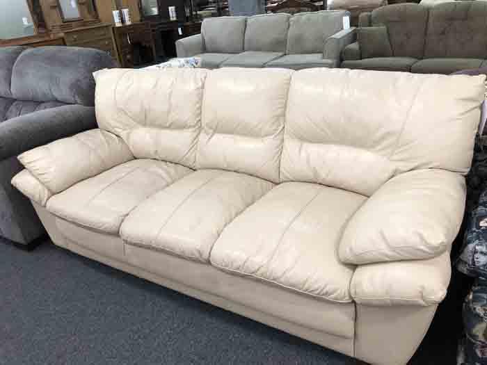 Leather Sofa $180
